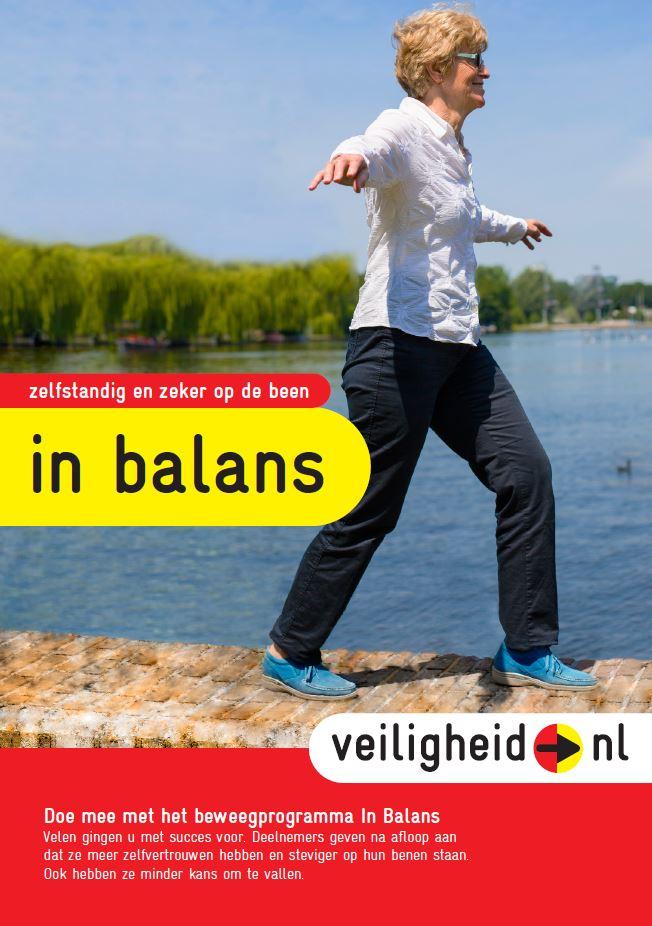 In balans flyer